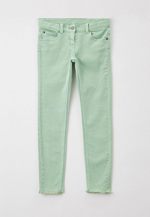 брюки stella mccartney для девочки, зеленые
