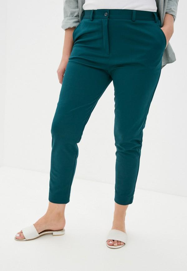 женские прямые брюки svesta, зеленые