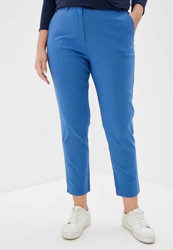 женские зауженные брюки svesta, голубые