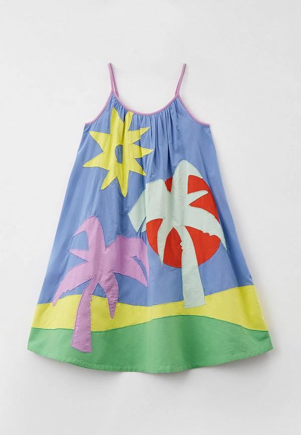 сарафан stella mccartney для девочки, разноцветный
