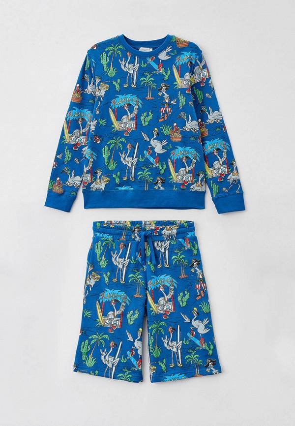 спортивный костюм stella mccartney для мальчика, синий