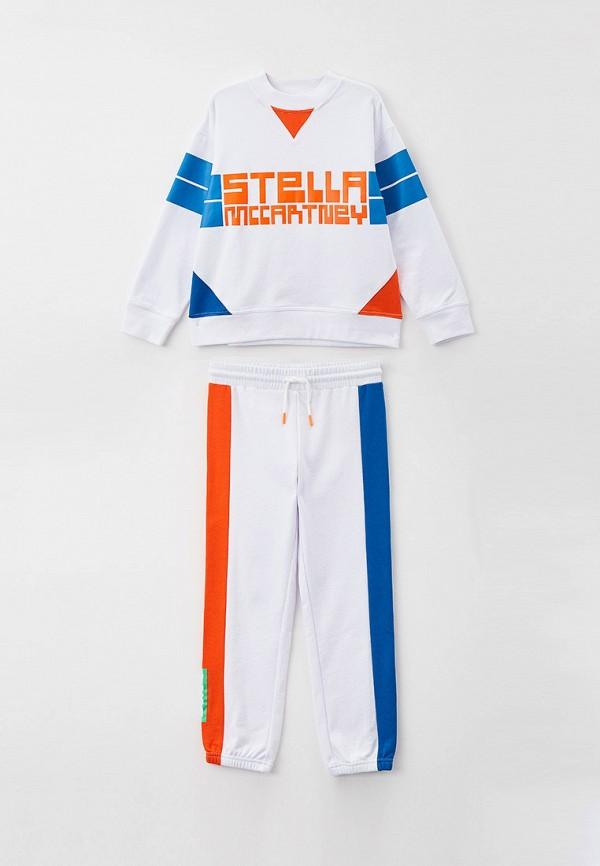 спортивный костюм stella mccartney для мальчика, белый