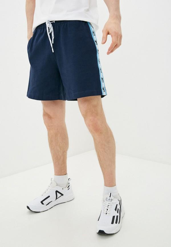 мужские спортивные шорты bikkembergs, синие