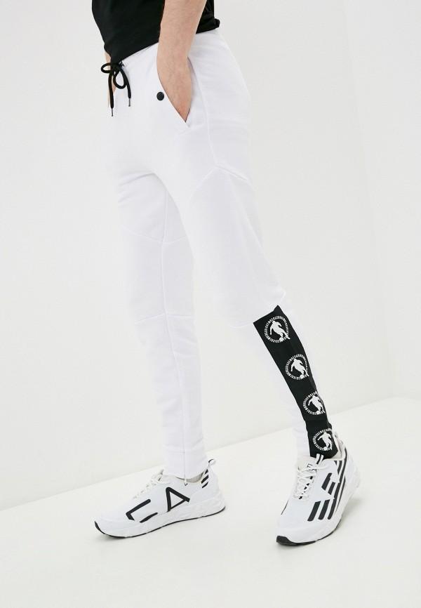 мужские спортивные брюки bikkembergs, белые