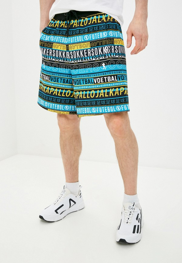 мужские шорты bikkembergs, разноцветные