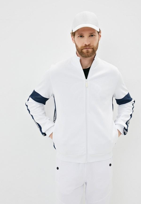 мужская олимпийка bikkembergs, белая