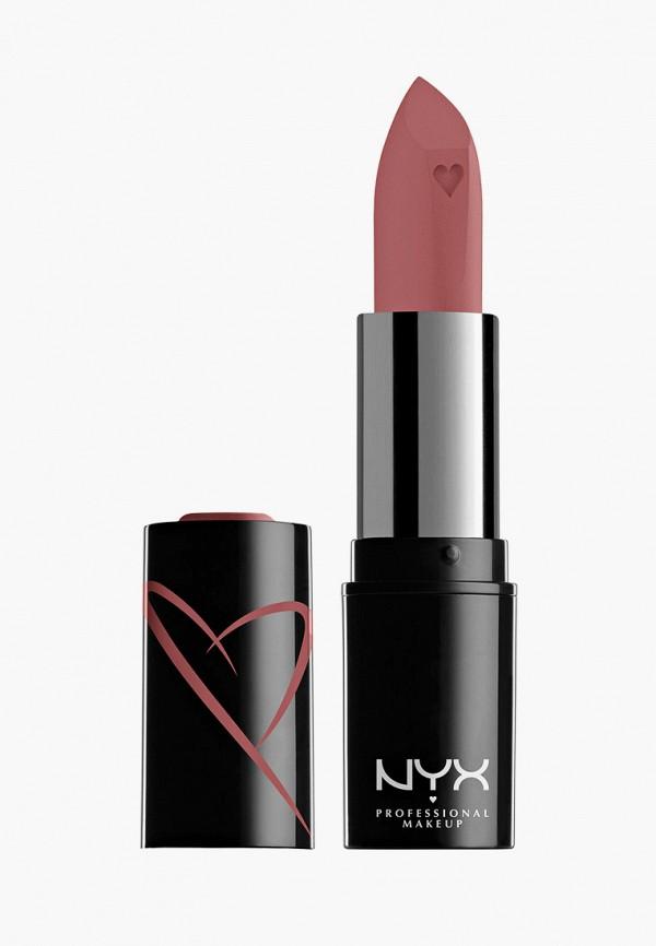 женская помада nyx professional makeup, бежевая