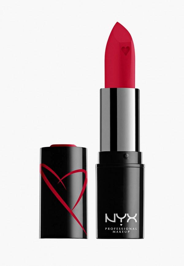 женская помада nyx professional makeup, красная