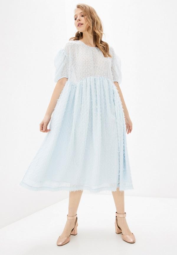 женское вечерние платье sister jane, голубое