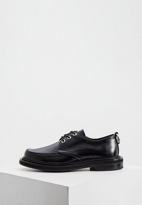 мужские ботинки the kooples, черные