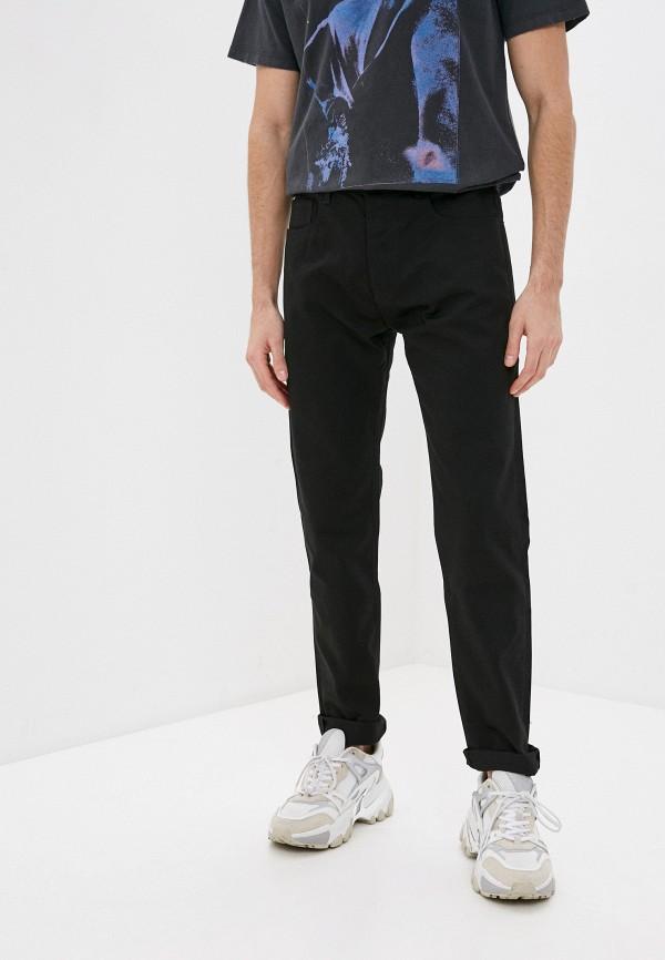 мужские зауженные джинсы the kooples, черные