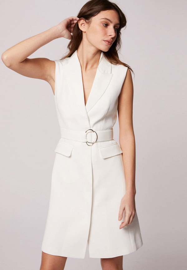 женское платье morgan, белое