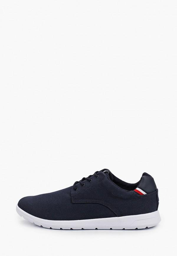мужские низкие кроссовки tommy hilfiger, синие