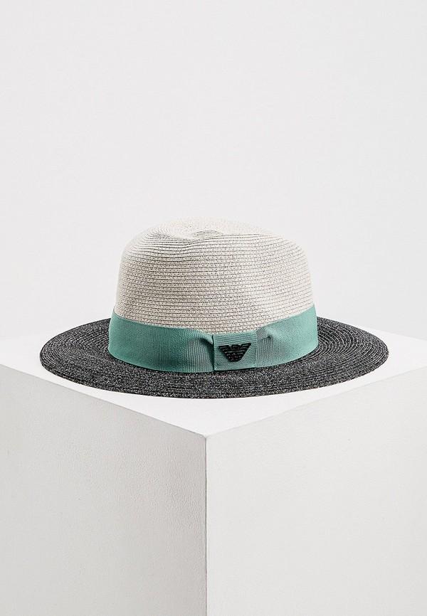 женская шляпа emporio armani, разноцветная
