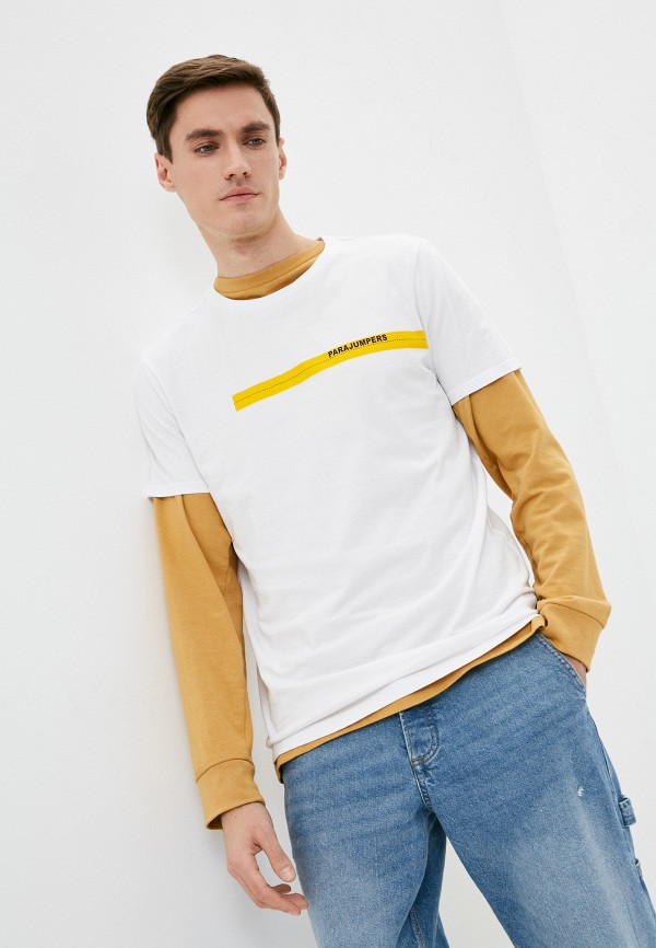мужская футболка parajumpers, белая