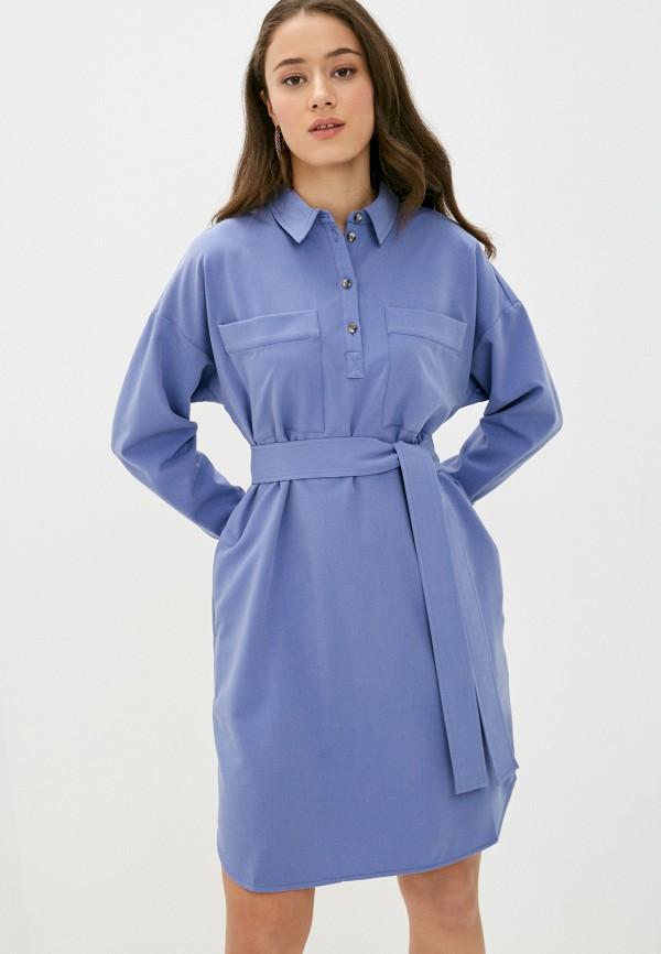 женское платье shartrez, синее