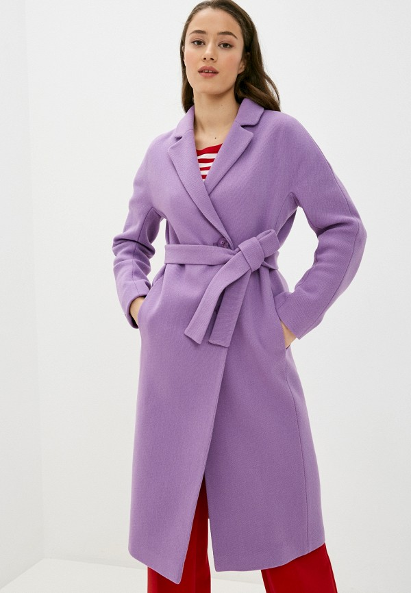 женское пальто shartrez, фиолетовое