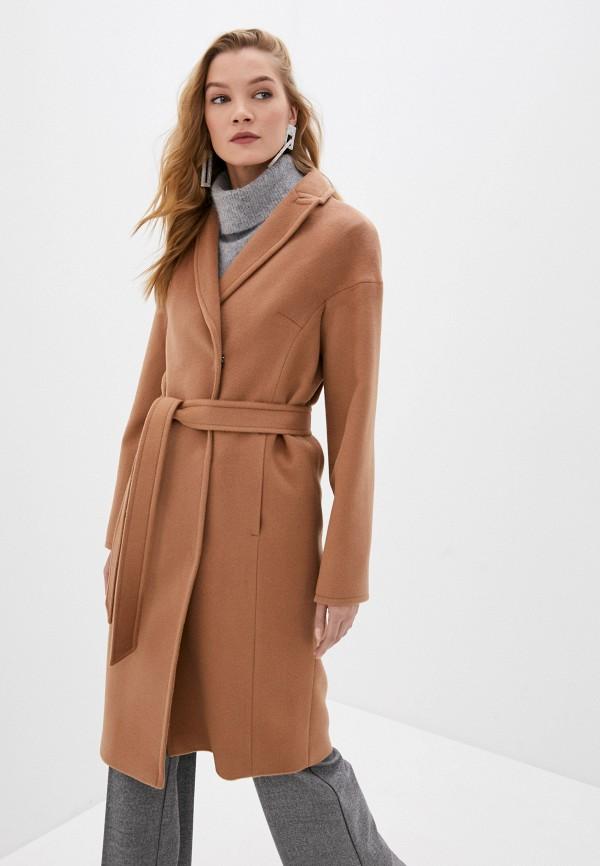 женское пальто shartrez, коричневое