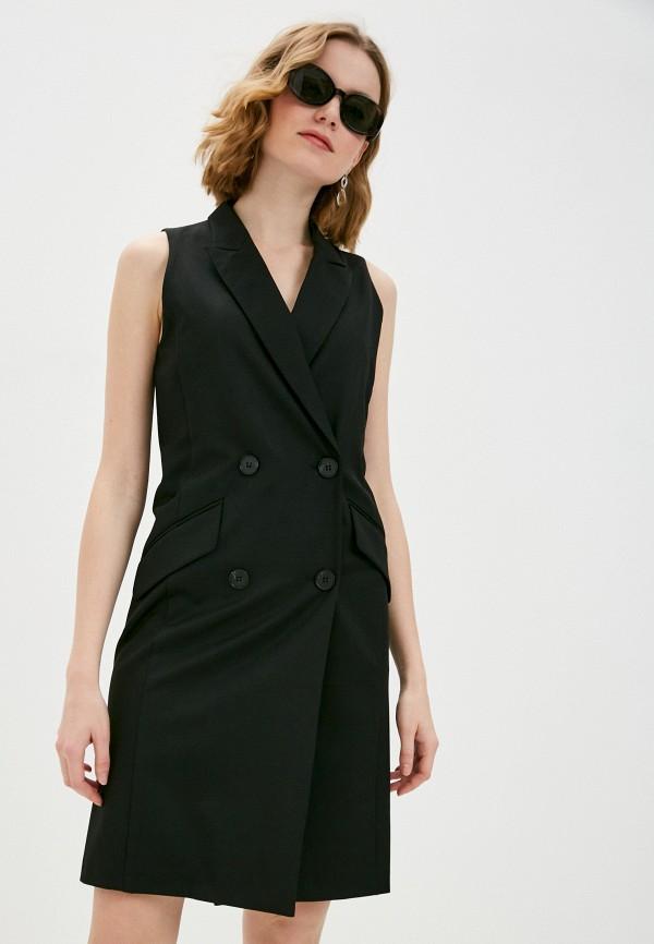 женское платье shartrez, черное