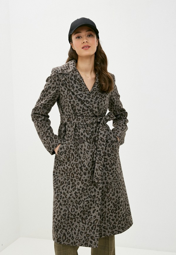женское пальто shartrez, серое