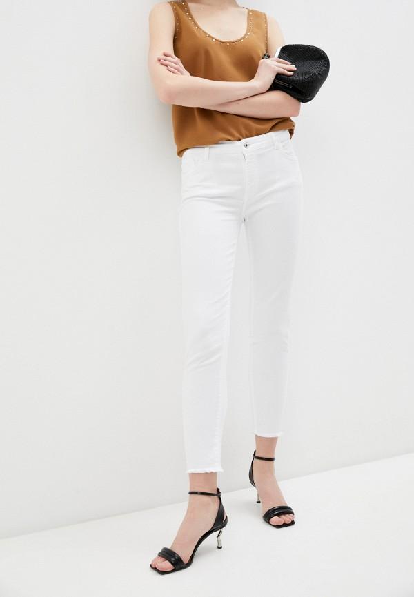 женские джинсы twinset milano, белые