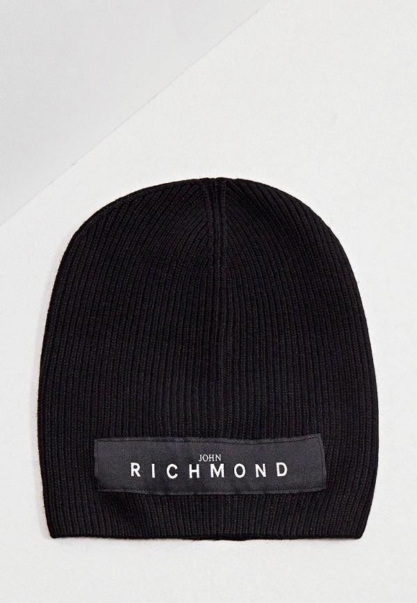 мужская шапка john richmond, черная