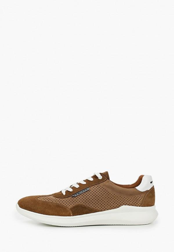 мужские кроссовки mcm, коричневые