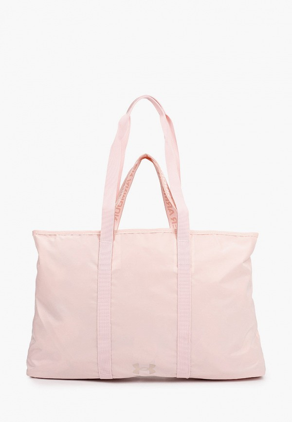 женская сумка-шоперы under armour, розовая