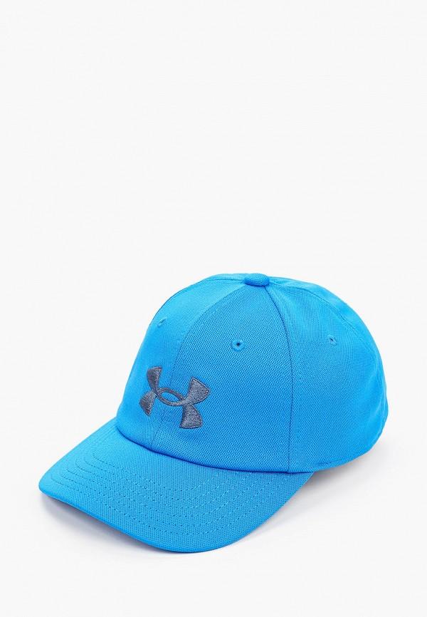бейсболка under armour для мальчика, голубая