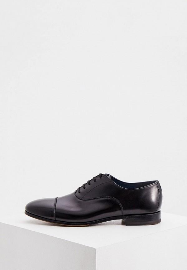 мужские туфли-оксфорды fabi, бордовые