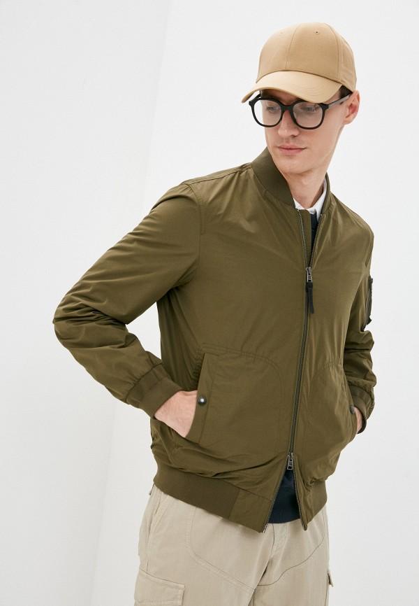мужская куртка woolrich, хаки