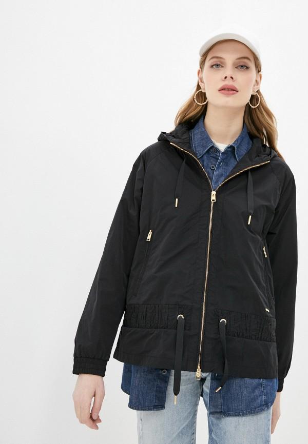 женская куртка woolrich, черная