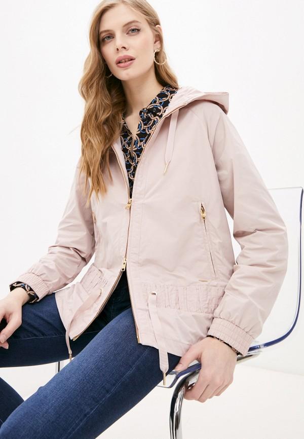 женская куртка woolrich, розовая