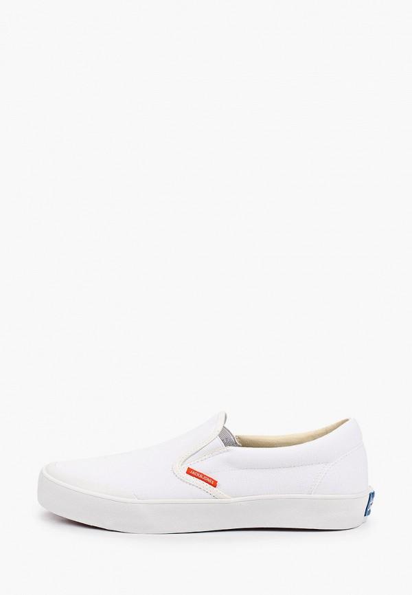 мужские сандалии jack & jones, белые