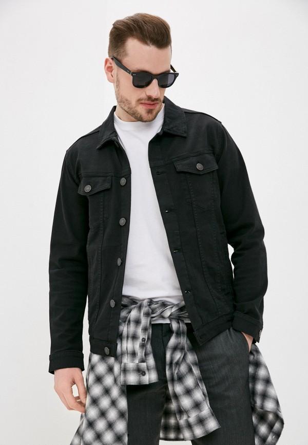 мужская джинсовые куртка produkt, черная