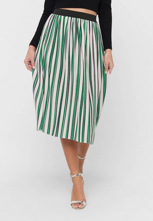 женская юбка-трапеции only, разноцветная