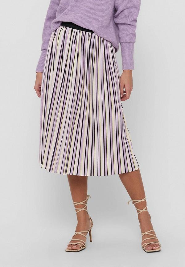 женская юбка only, разноцветная