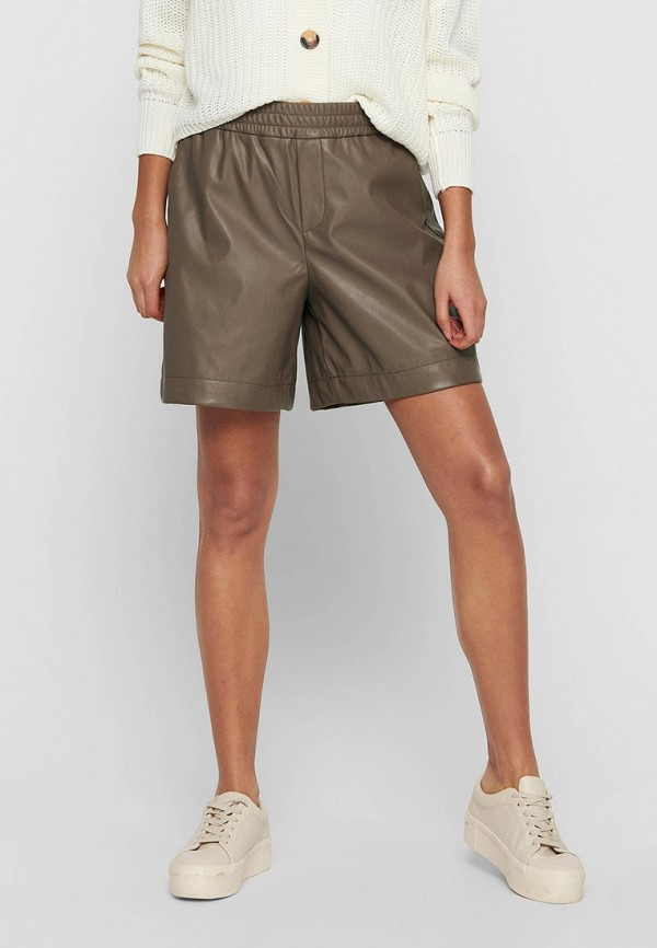 женские повседневные шорты only, коричневые