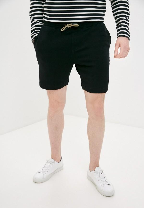 мужские спортивные шорты selected homme, черные