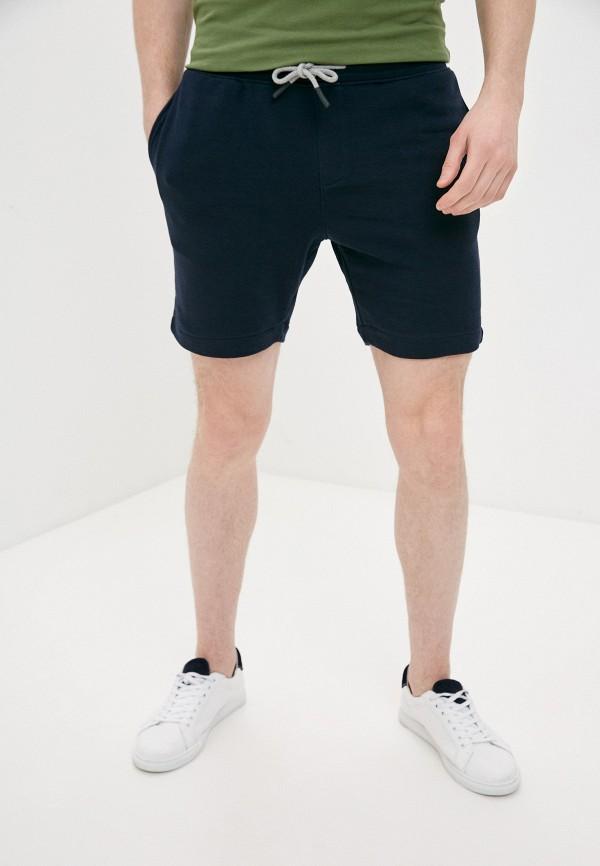 мужские спортивные шорты selected homme, синие