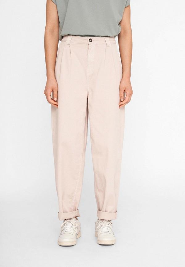 женские повседневные брюки noisy may, розовые