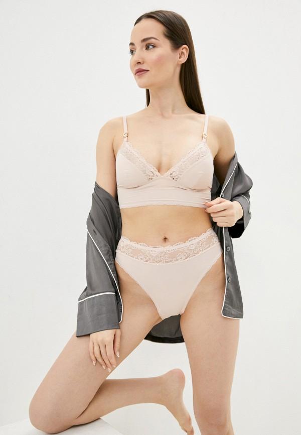 женские трусы-слипы stella mccartney underwear, розовые