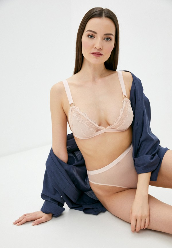 женский бюстгальтер stella mccartney underwear, розовый