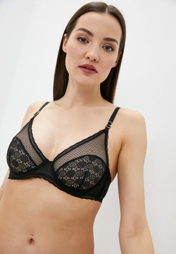 женский бюстгальтер stella mccartney underwear, черный