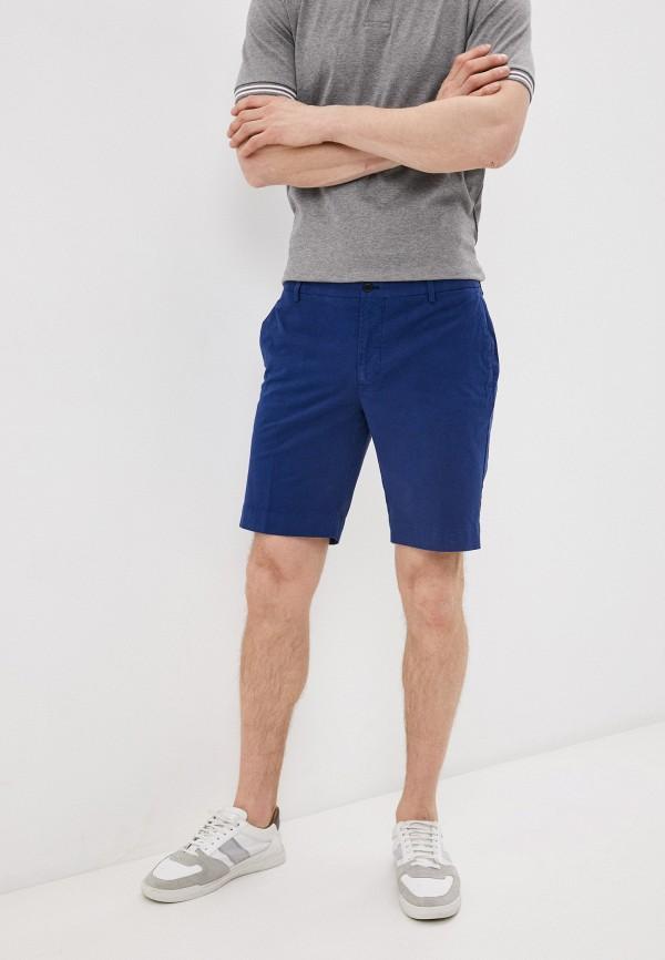 мужские повседневные шорты hackett london, синие