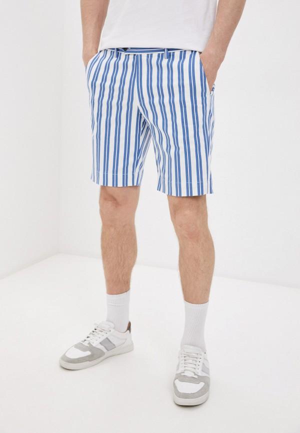 мужские повседневные шорты hackett london, голубые