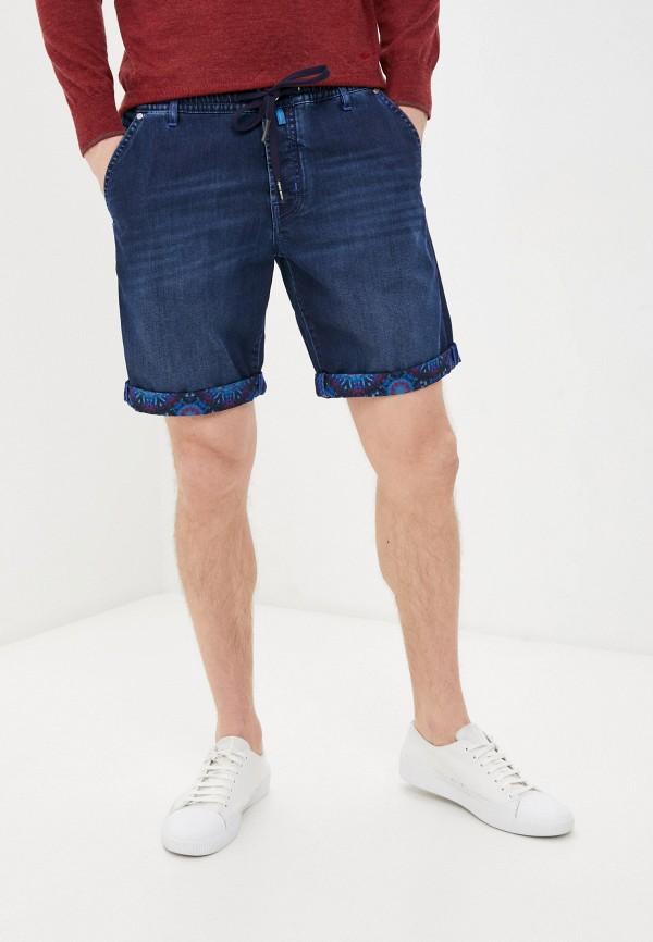 мужские джинсовые шорты jacob cohen, синие