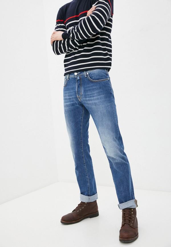 мужские зауженные джинсы jacob cohen, синие