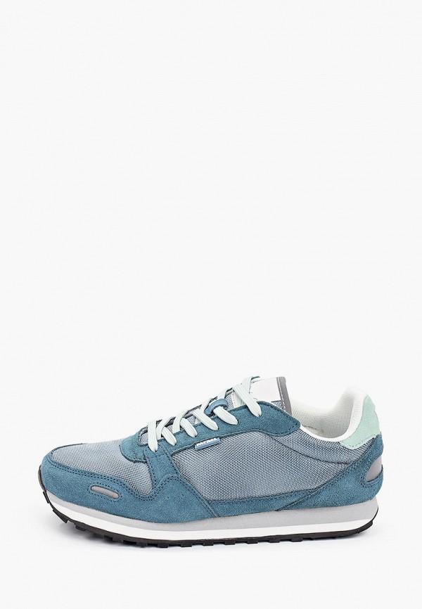 женские низкие кроссовки patrol, синие