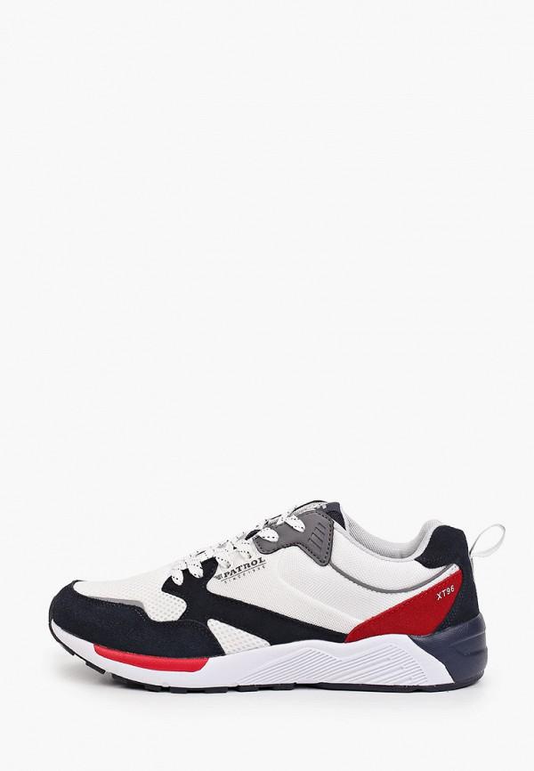 мужские кроссовки patrol, белые